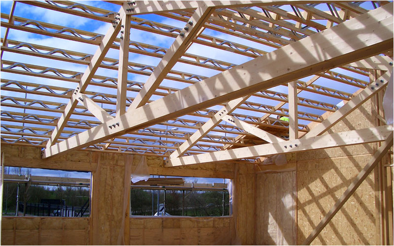 Roof trusses truss systems design and manufacturing ltd for Manufactured roof trusses